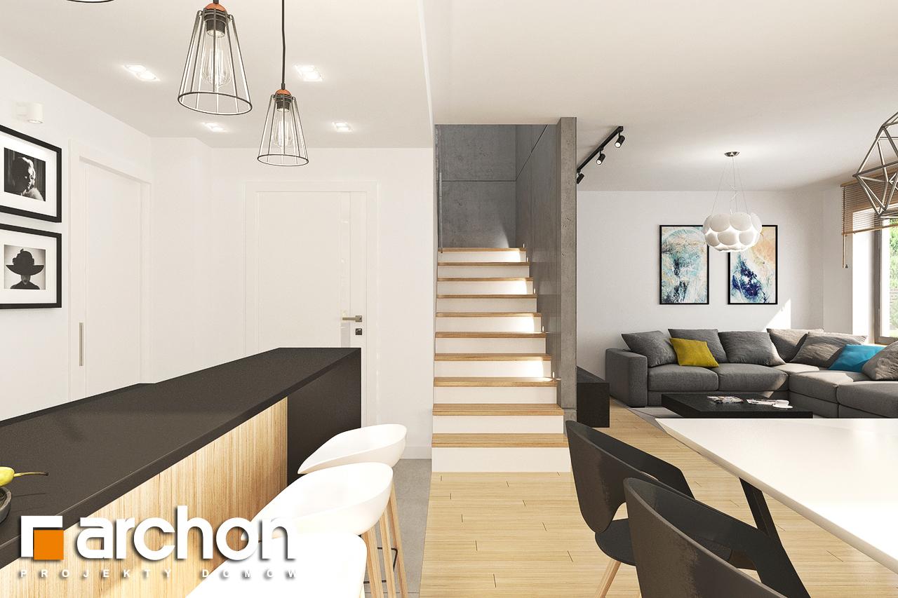 Проект будинку ARCHON+ Будинок у топазах денна зона (візуалізація 1 від 4)