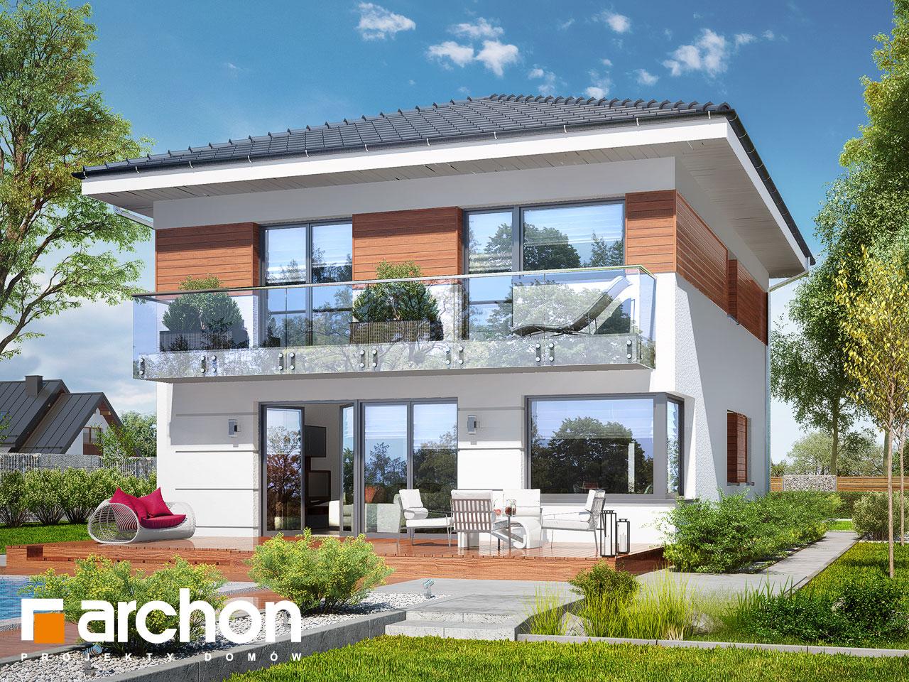 Проект будинку ARCHON+ Вілла Юлія 7 Вид 2