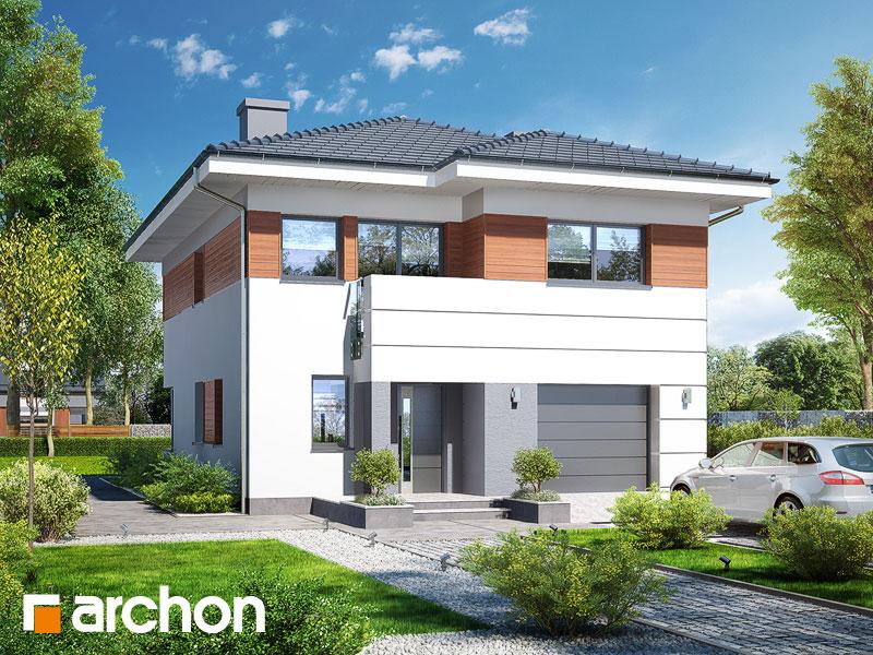 Проект будинку ARCHON+ Вілла Юлія 7 Вид 1