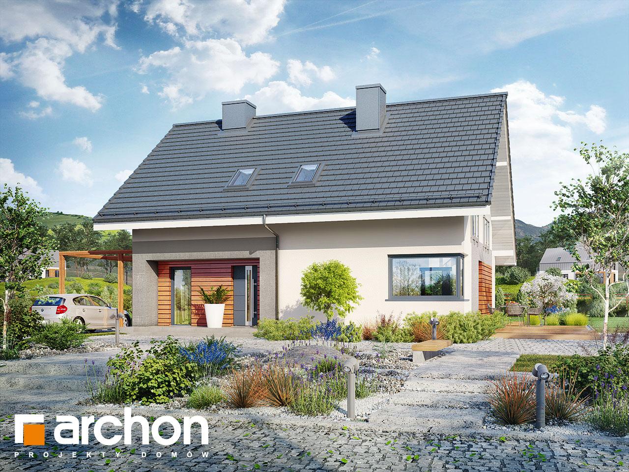 Проект будинку ARCHON+ Будинок в малинівці 4 додаткова візуалізація