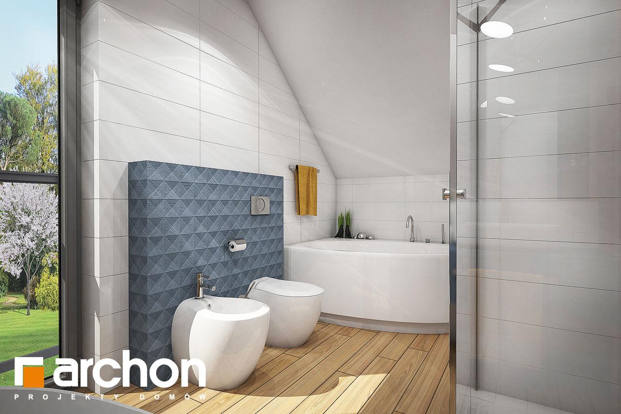 Проект будинку ARCHON+ Будинок в малинівці 4 візуалізація ванни (візуалізація 3 від 1)
