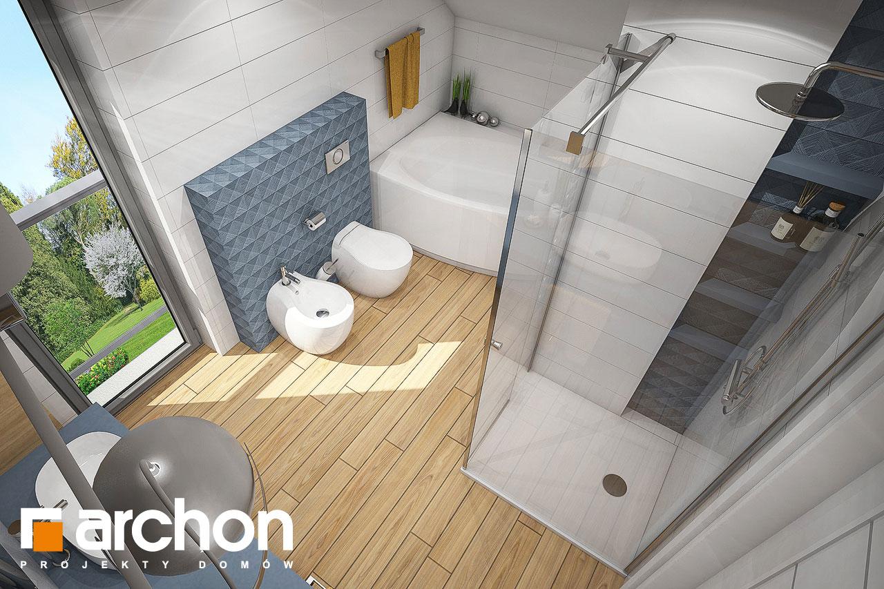 Проект будинку ARCHON+ Будинок в малинівці 4 візуалізація ванни (візуалізація 3 від 4)