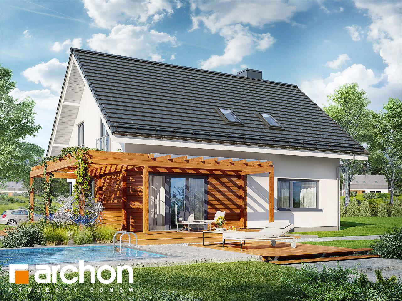 Проект будинку ARCHON+ Будинок в малинівці 4 стилізація 4