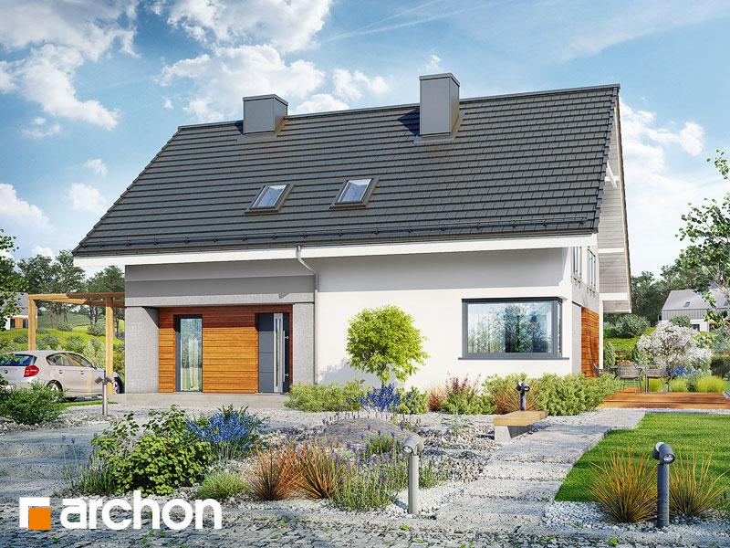 Проект будинку ARCHON+ Будинок в малинівці 4 Вид 1