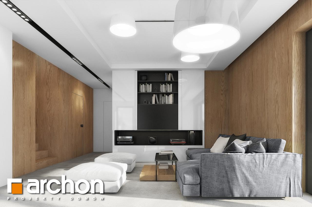 Проект будинку ARCHON+ Будинок в малинівці 4 денна зона (візуалізація 1 від 2)