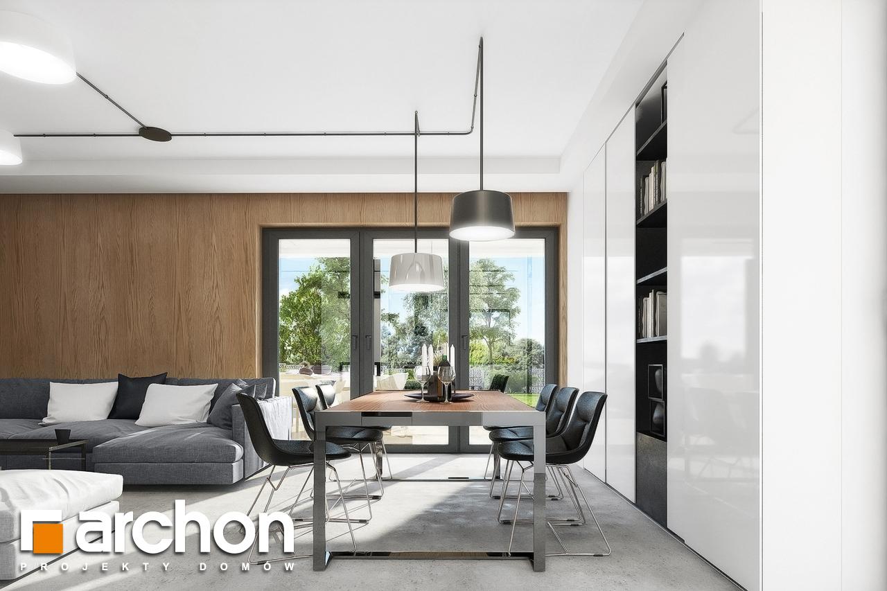 Проект будинку ARCHON+ Будинок в малинівці 4 денна зона (візуалізація 1 від 3)
