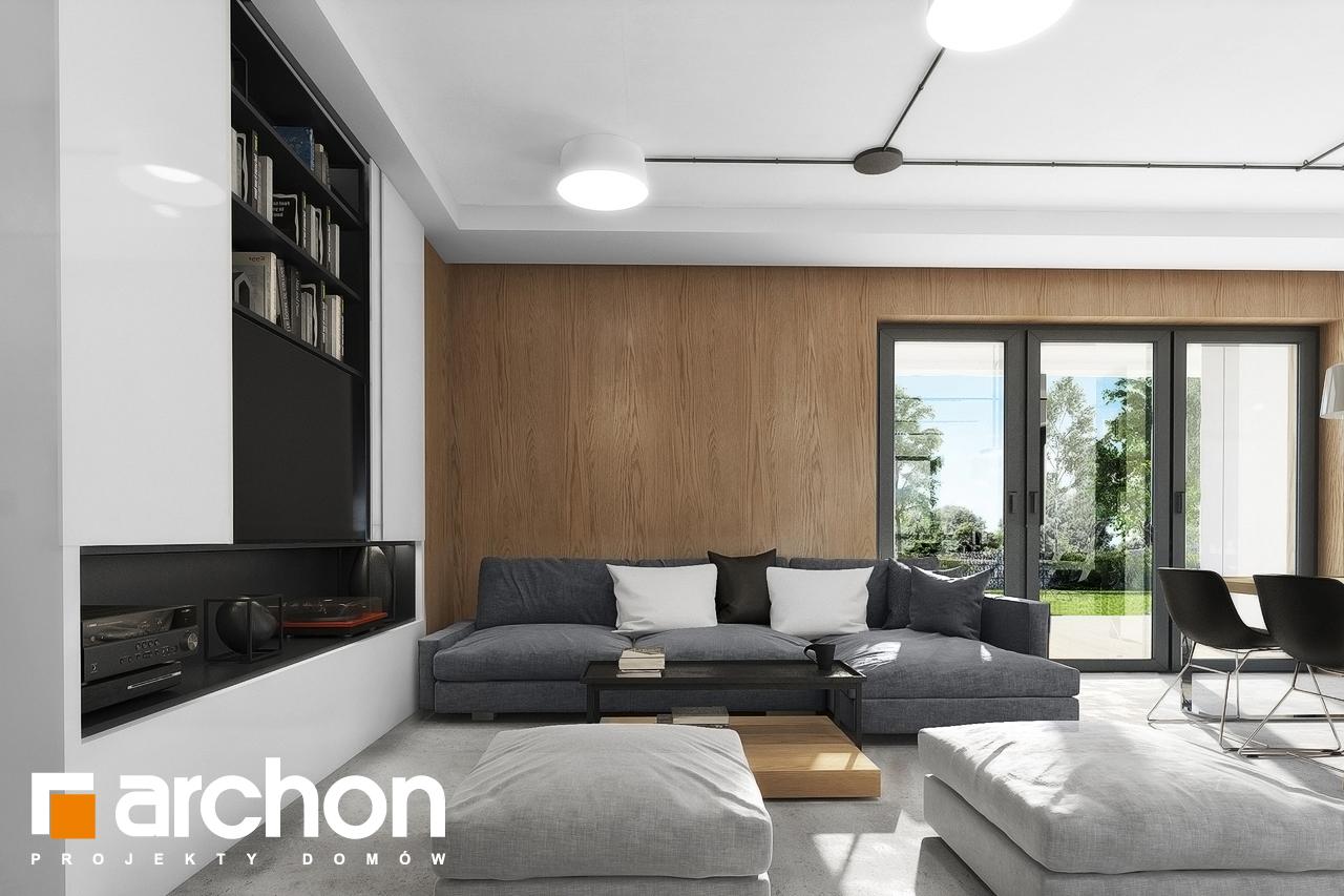 Проект будинку ARCHON+ Будинок в малинівці 4 денна зона (візуалізація 1 від 4)