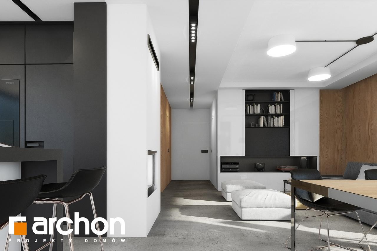 Проект будинку ARCHON+ Будинок в малинівці 4 денна зона (візуалізація 1 від 5)