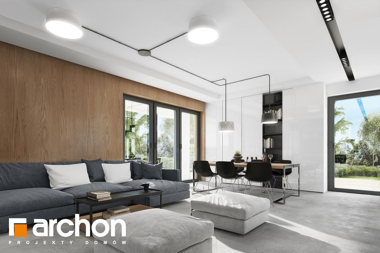 Проект будинку ARCHON+ Будинок в малинівці 4 денна зона (візуалізація 1 від 7)