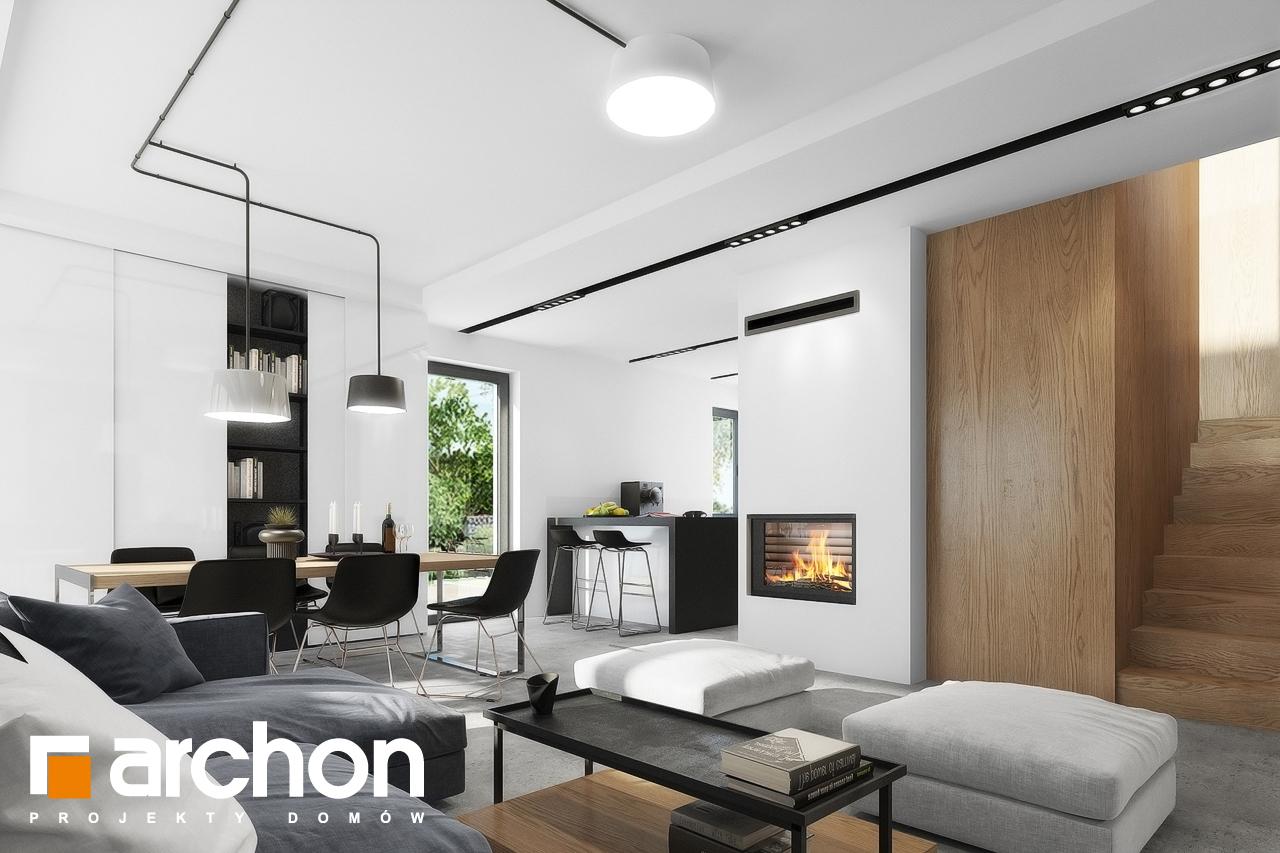 Проект будинку ARCHON+ Будинок в малинівці 4 денна зона (візуалізація 1 від 8)