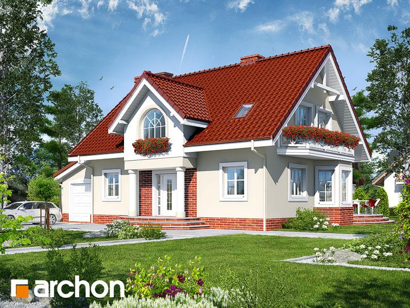 Проект будинку ARCHON+ Будинок в мірабеллі (Г) вер.2 Вид 1