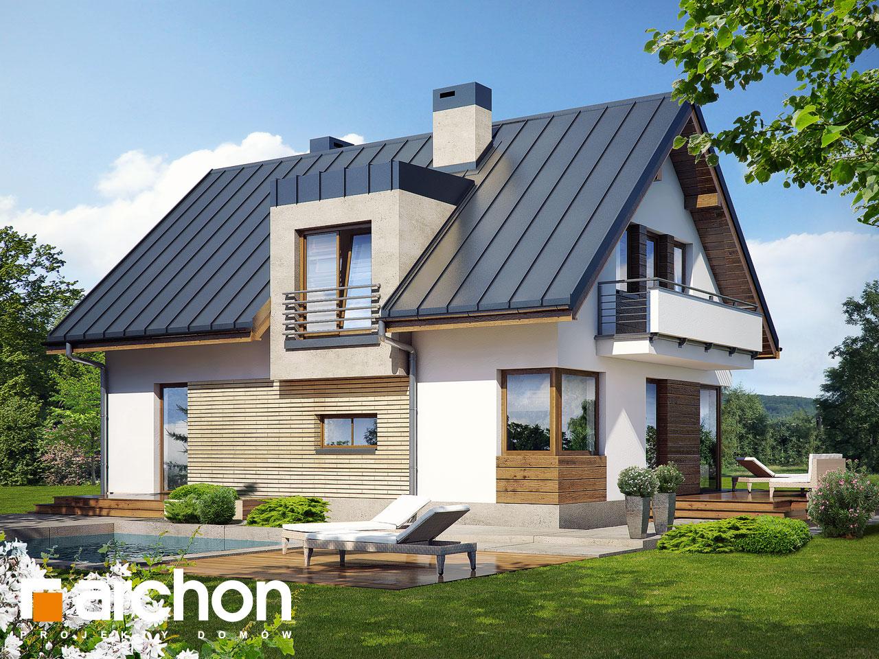 Проект будинку ARCHON+ Будинок в амарилісах (В) Вид 2