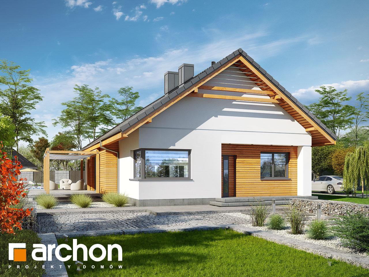 Проект будинку ARCHON+ Будинок під звірками Вид 2