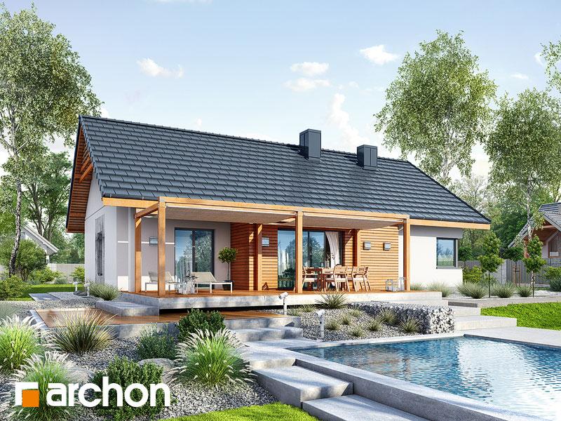Проект будинку ARCHON+ Будинок під звірками Вид 1