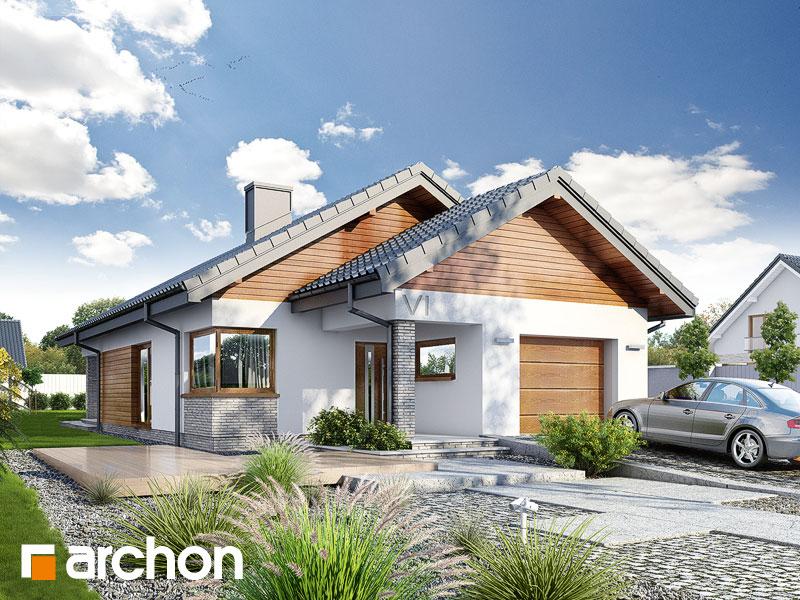 Проект будинку ARCHON+ Будинок в ліредах Вид 1