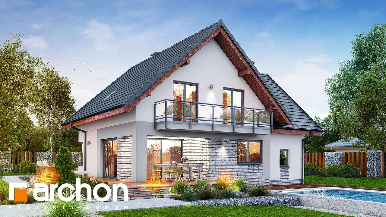 Проект будинку ARCHON+ Будинок в амброзіях Вид 2