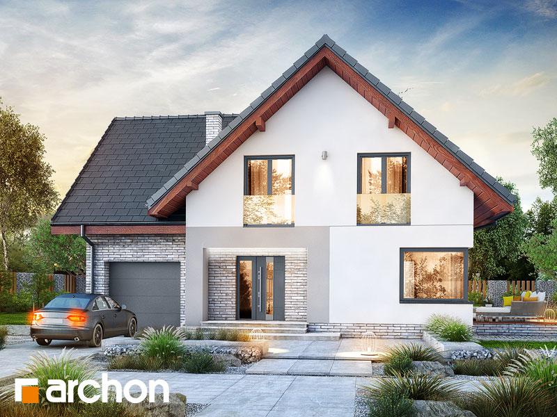 Проект будинку ARCHON+ Будинок в амброзіях Вид 1