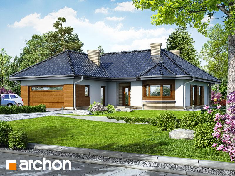 Проект будинку ARCHON+ Будинок в гарденіях Вид 1