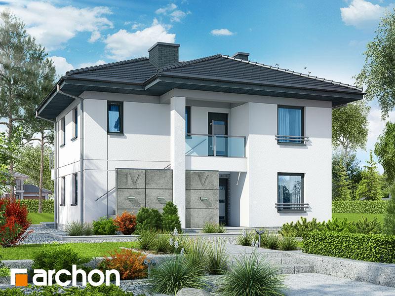 Проект дома ARCHON+ Вилла Луиза (Р2) стилизация 3