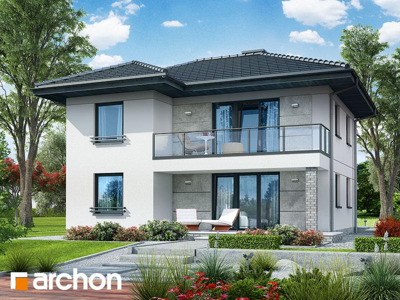 Проект дома ARCHON+ Вилла Луиза (Р2) стилизация 4