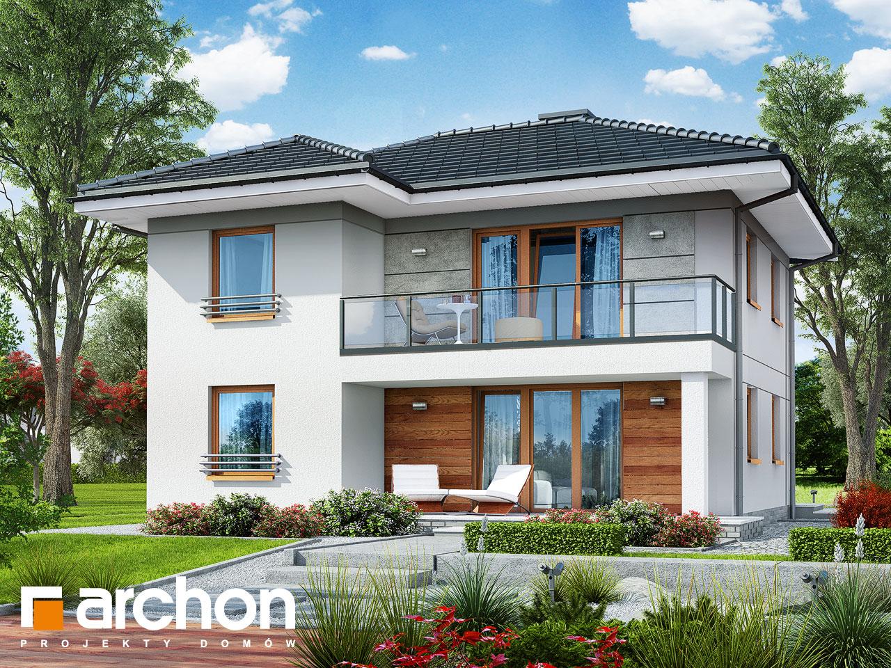 Проект дома ARCHON+ Вилла Луиза (Р2) Вид 2