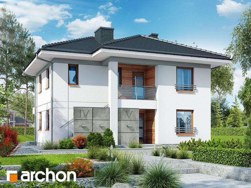 Проект дома ARCHON+ Вилла Луиза (Р2) Вид 1