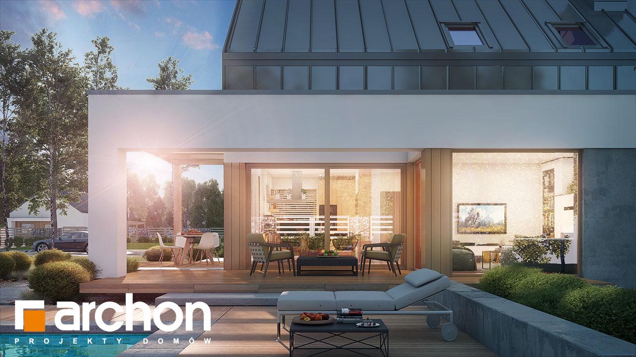 Проект будинку ARCHON+ Будинок в аурорах (Н) додаткова візуалізація