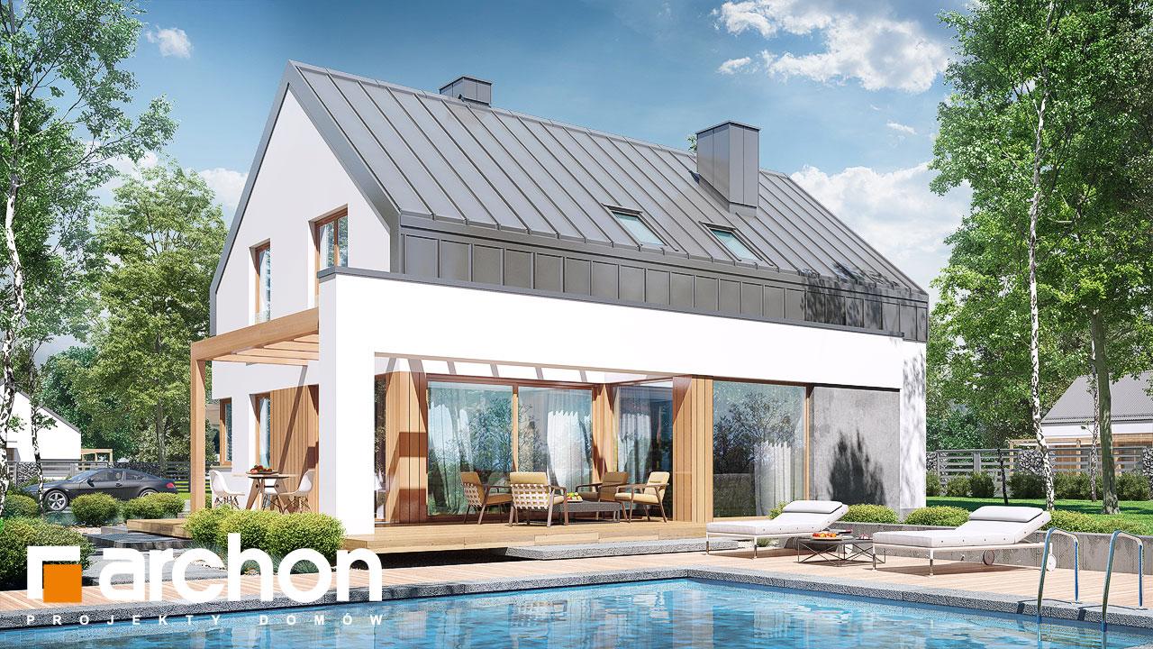 Проект дома ARCHON+ Дом в аурорах (Н) Вид 2