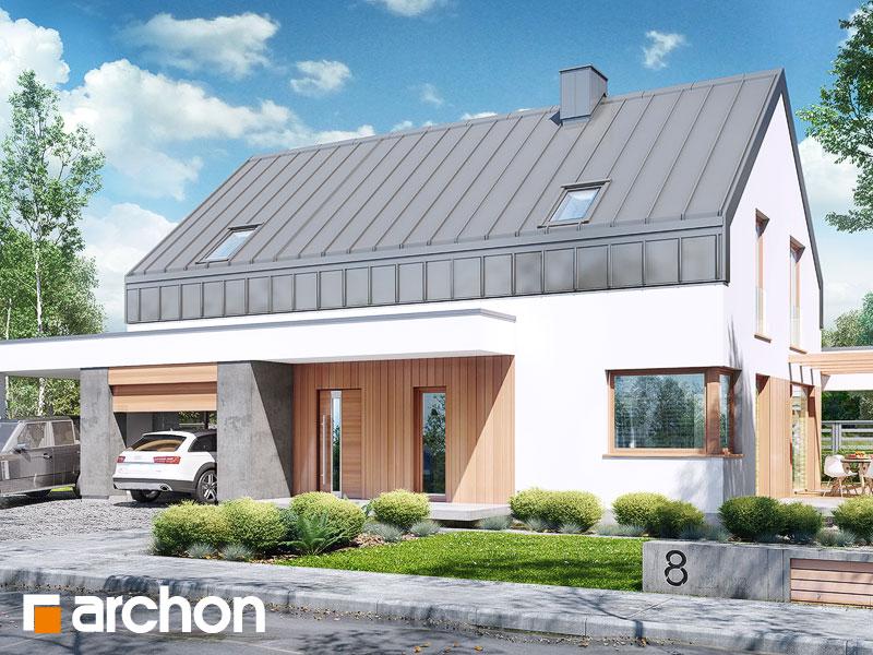Проект дома ARCHON+ Дом в аурорах (Н) Вид 1