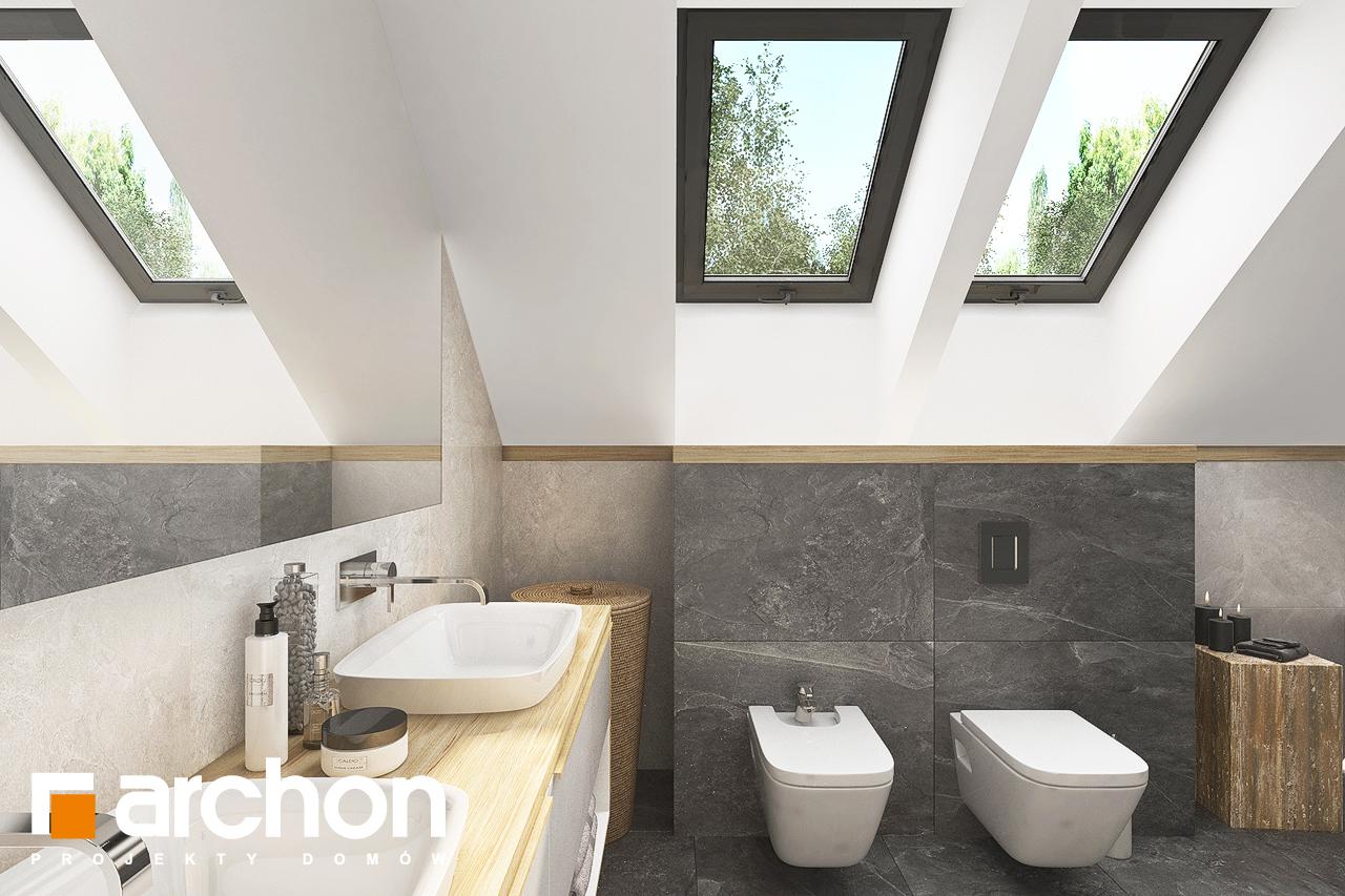 Проект будинку ARCHON+ Будинок в кортландах 4 (Г2) візуалізація ванни (візуалізація 3 від 3)