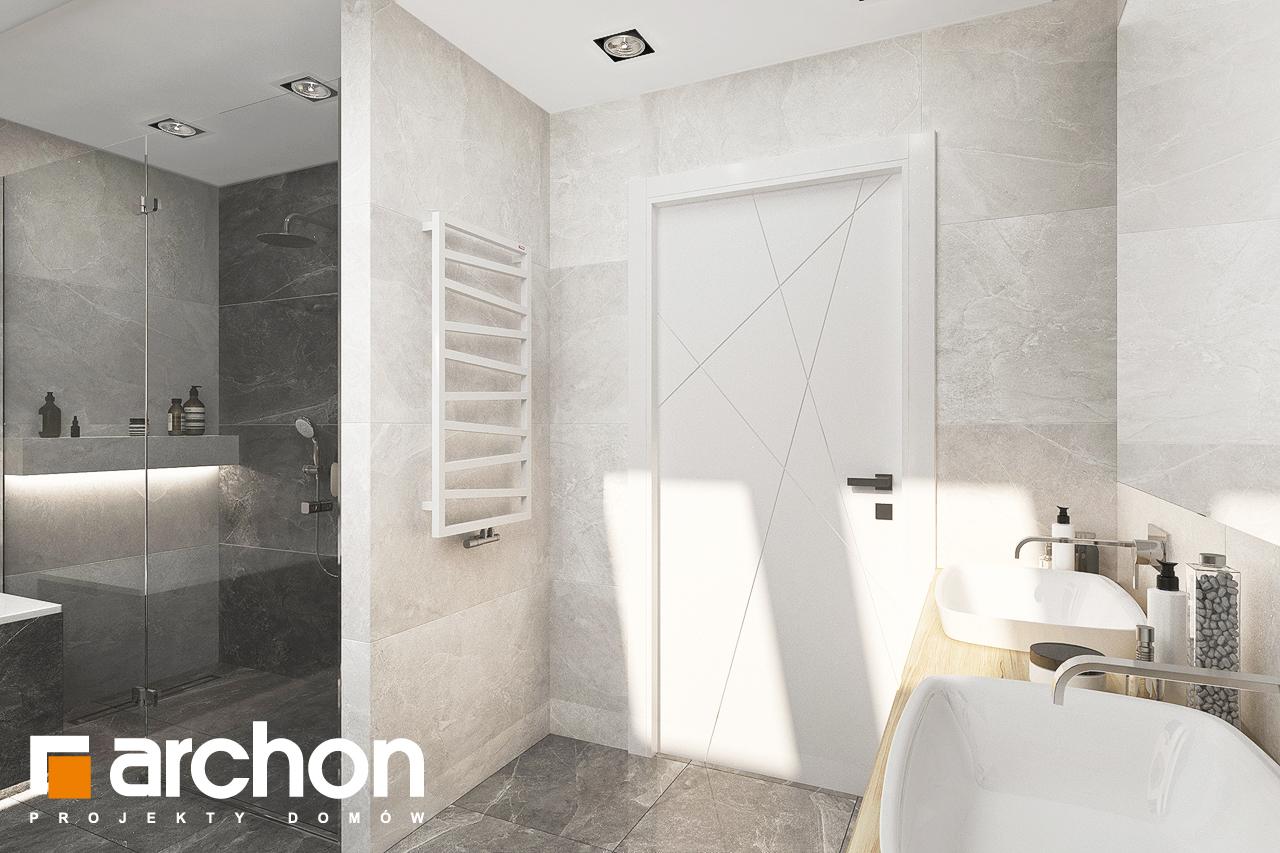Проект дома ARCHON+ Дом в кортландах 4 (Г2) визуализация ванной (визуализация 3 вид 4)