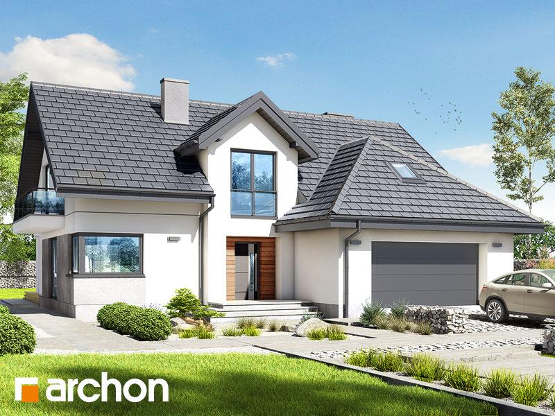 Проект дома ARCHON+ Дом в кортландах 4 (Г2) Вид 1