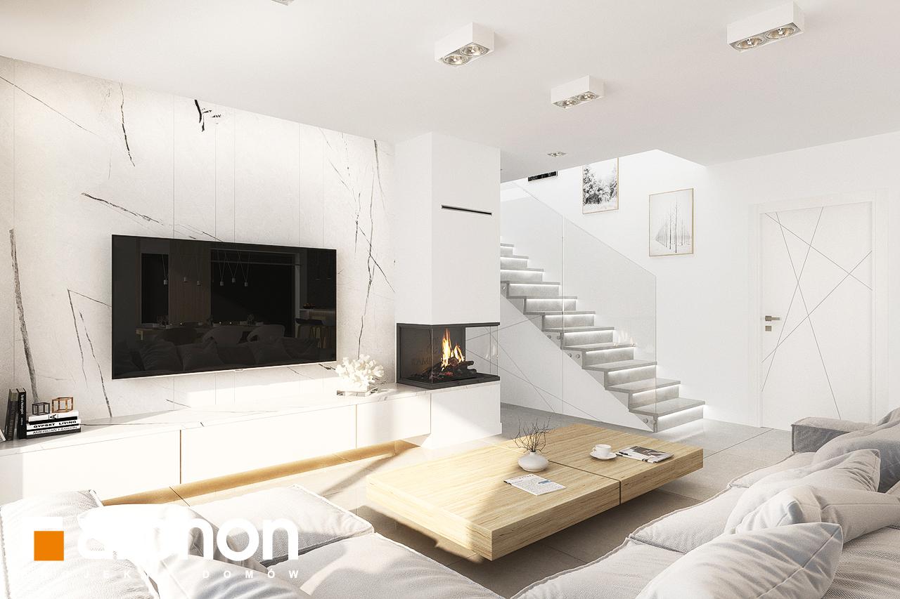 Проект дома ARCHON+ Дом в кортландах 4 (Г2) дневная зона (визуализация 1 вид 4)