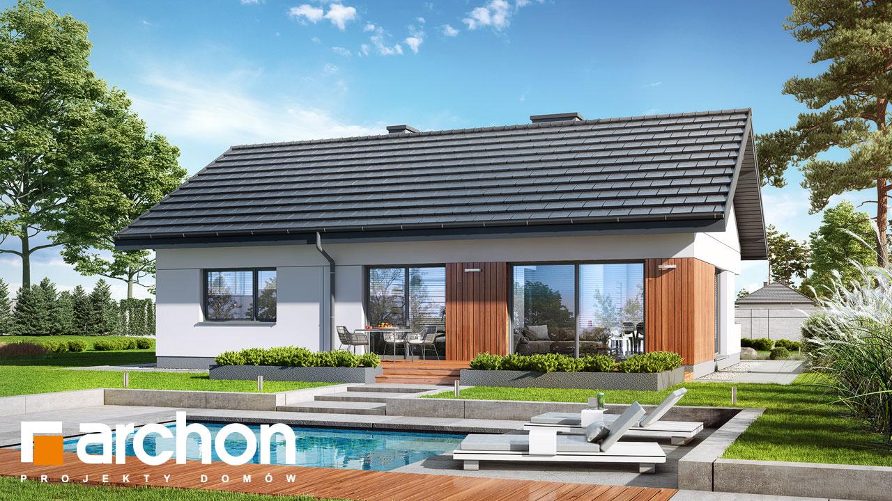 Проект будинку ARCHON+ Будинок в липниках Вид 2