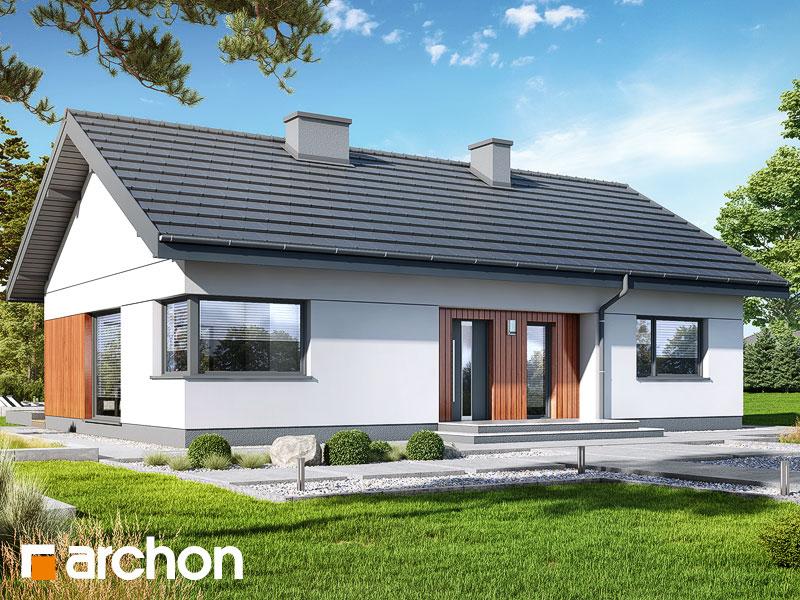 Проект будинку ARCHON+ Будинок в липниках Вид 1