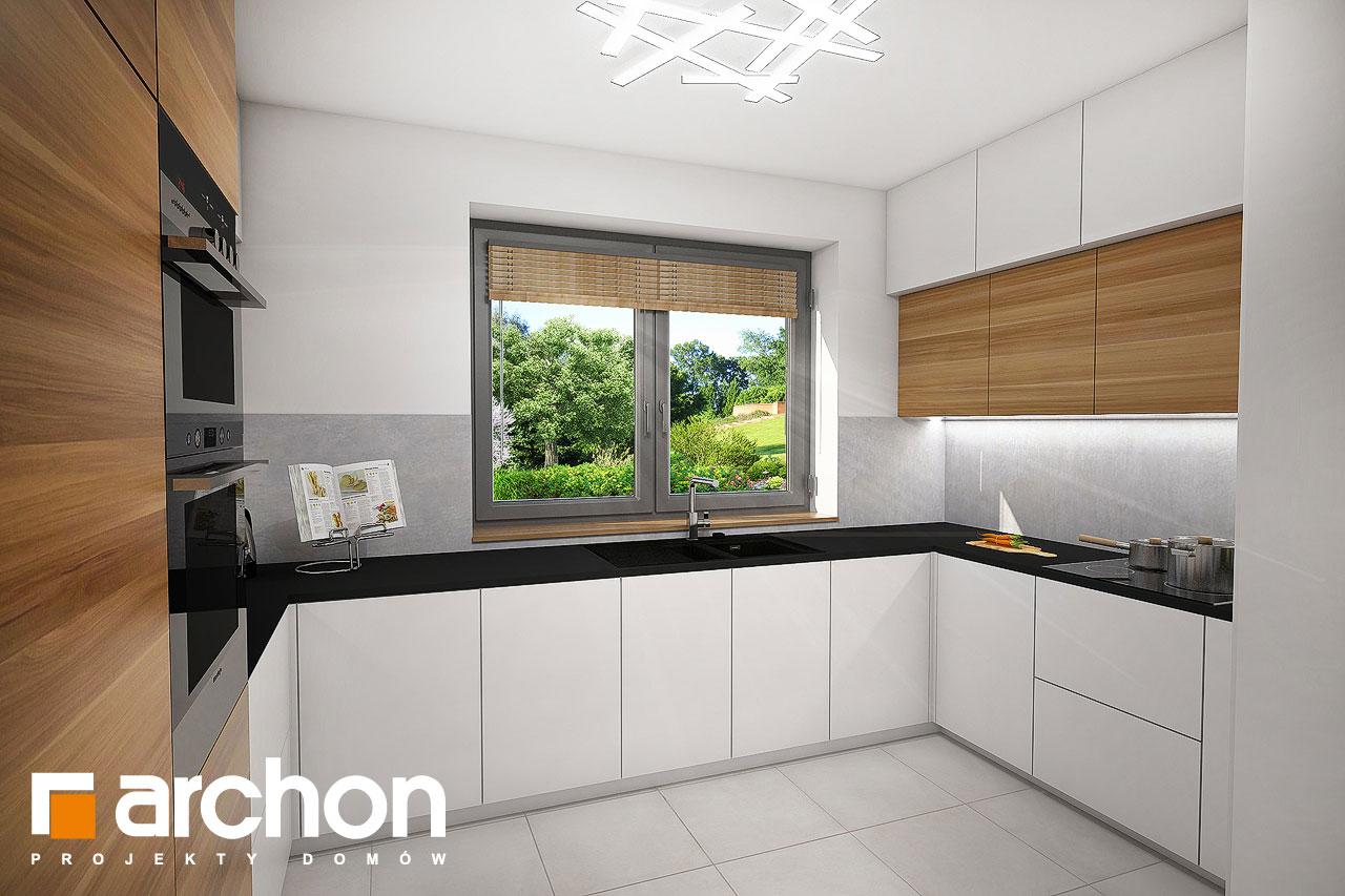 Проект будинку ARCHON+ Будинок в малинівці 5 візуалізація кухні 1 від 1