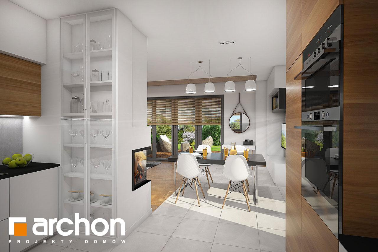 Проект будинку ARCHON+ Будинок в малинівці 5 візуалізація кухні 1 від 2