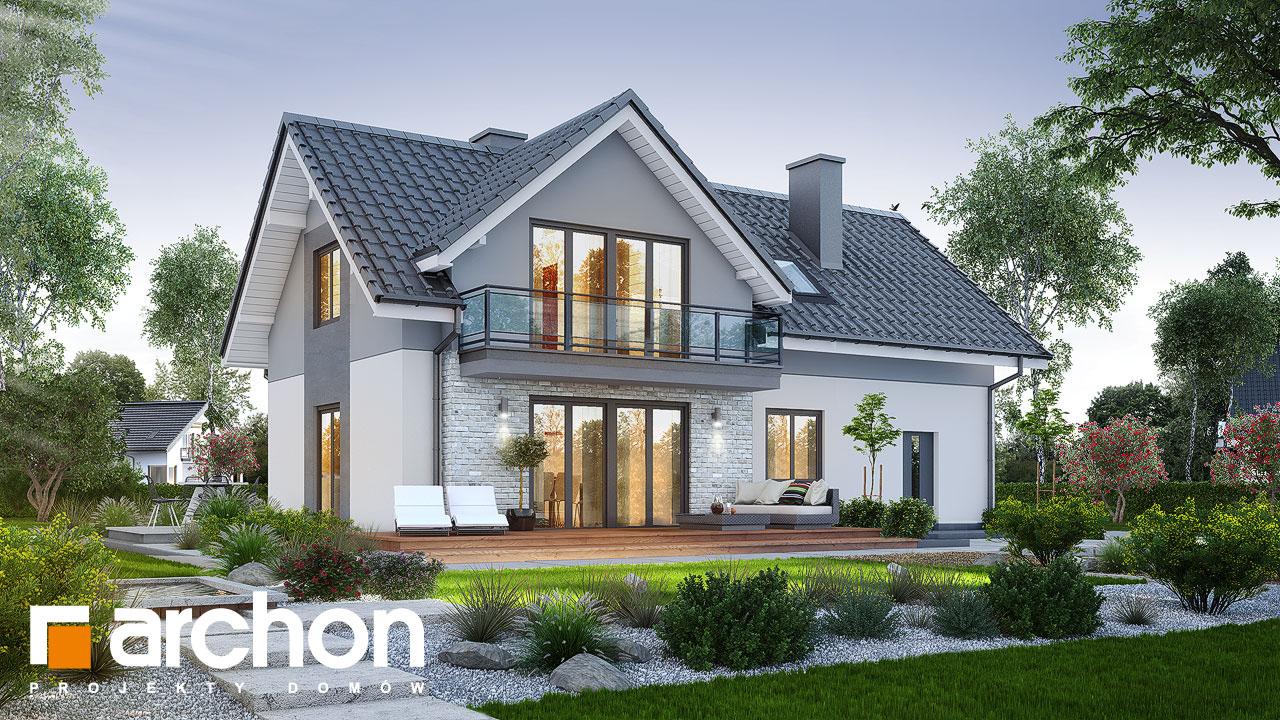 Проект будинку ARCHON+ Будинок в малинівці 5 Вид 2