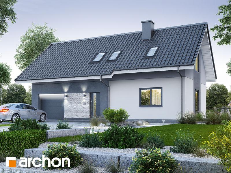 Проект будинку ARCHON+ Будинок в малинівці 5 Вид 1