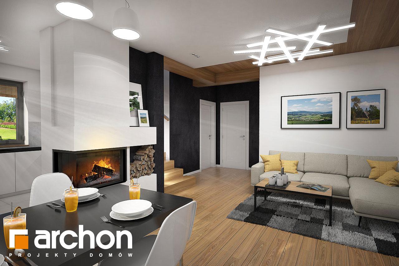 Проект будинку ARCHON+ Будинок в малинівці 5 денна зона (візуалізація 1 від 1)