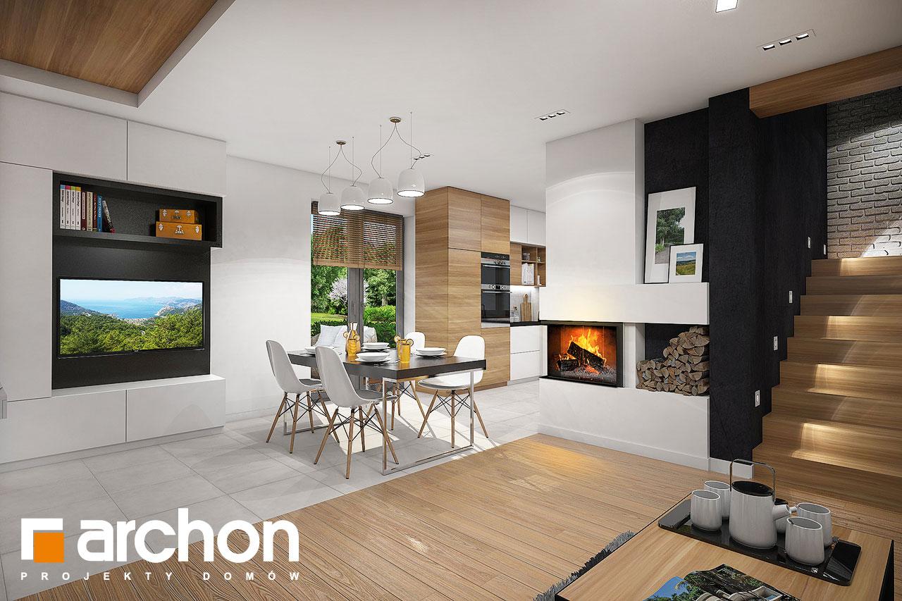 Проект будинку ARCHON+ Будинок в малинівці 5 денна зона (візуалізація 1 від 2)
