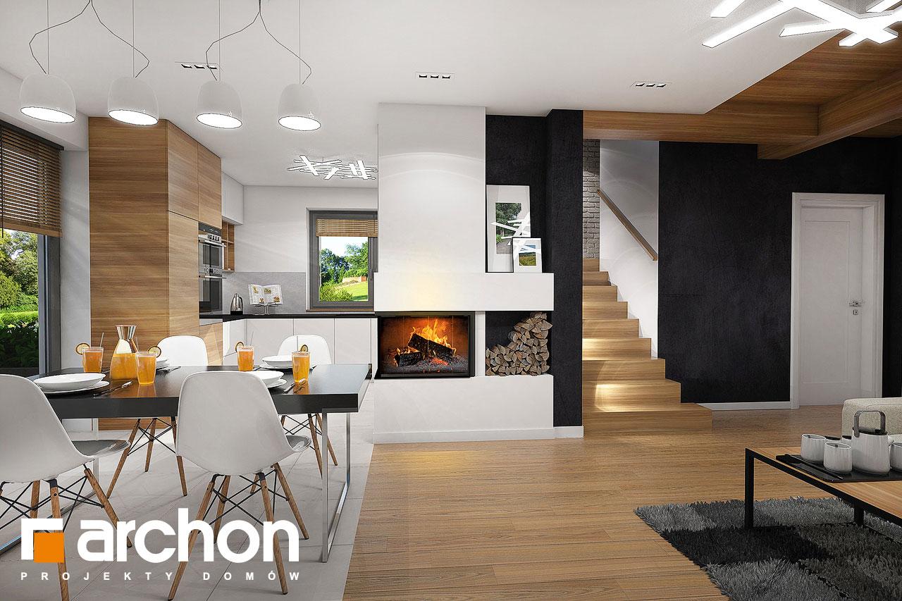 Проект будинку ARCHON+ Будинок в малинівці 5 денна зона (візуалізація 1 від 3)
