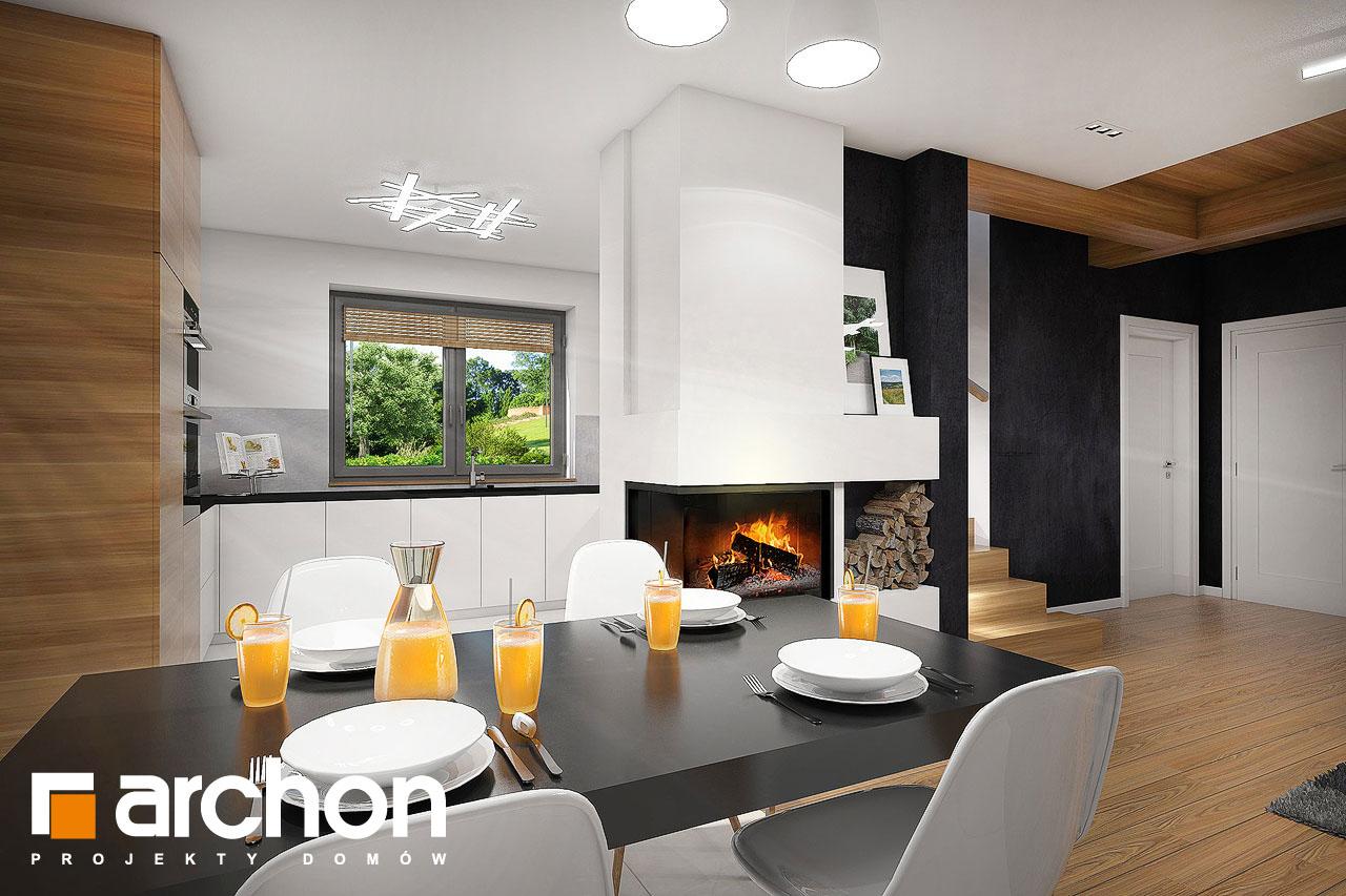 Проект будинку ARCHON+ Будинок в малинівці 5 денна зона (візуалізація 1 від 4)