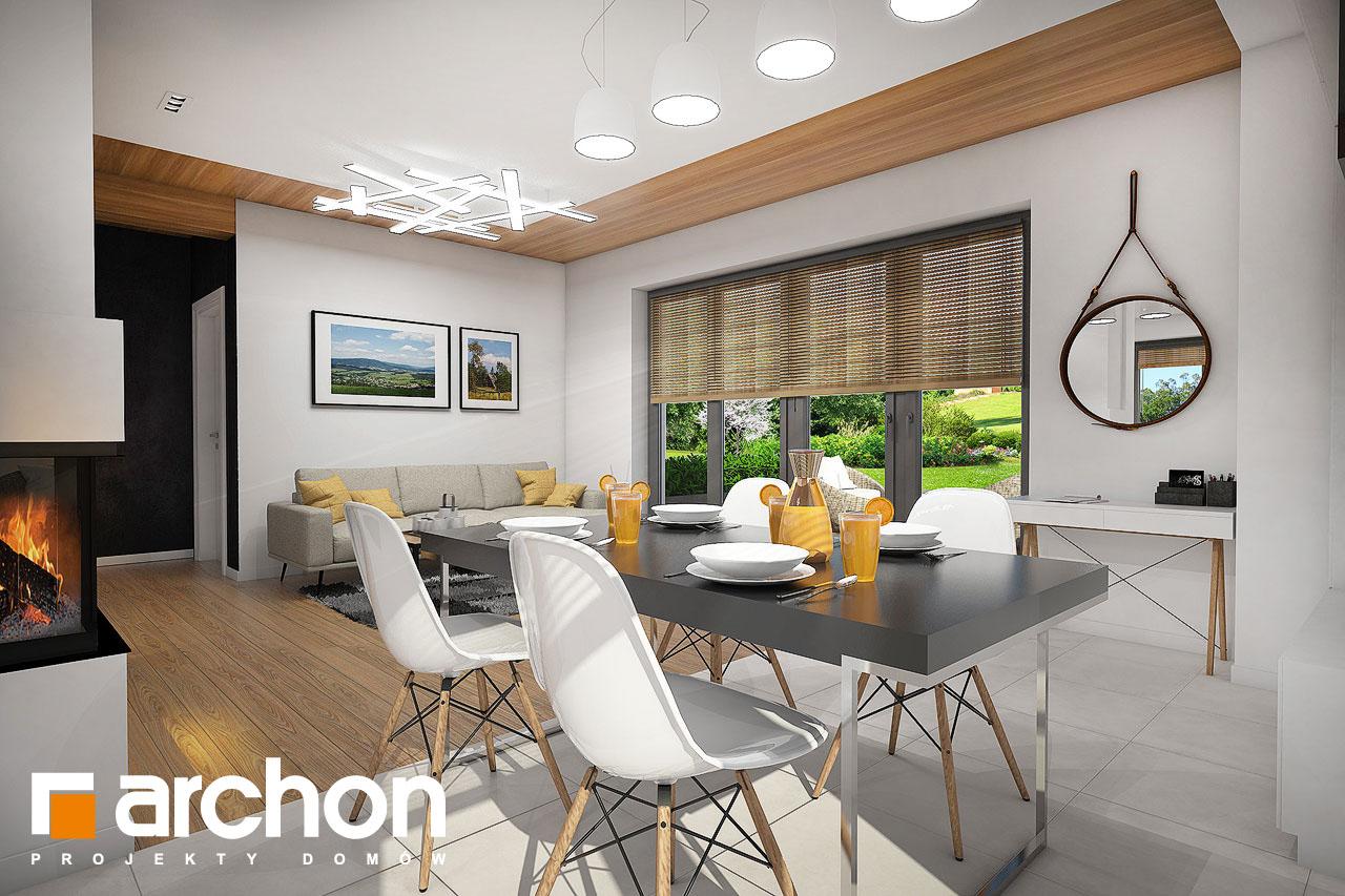Проект будинку ARCHON+ Будинок в малинівці 5 денна зона (візуалізація 1 від 5)