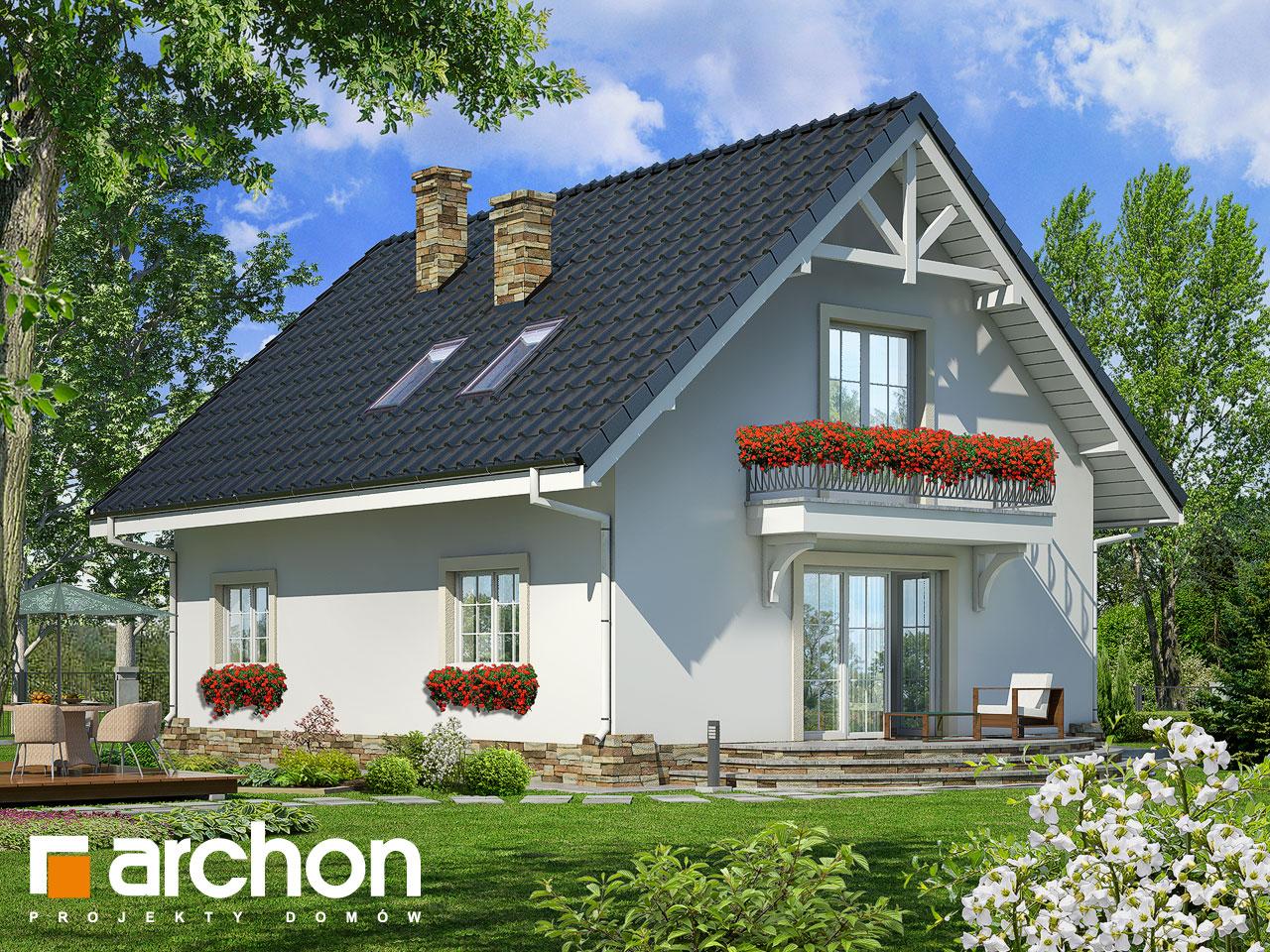 Проект будинку ARCHON+ Будинок в люцерні 2 Вид 2