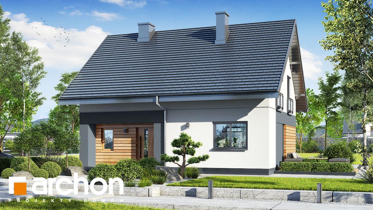 Проект будинку ARCHON+ Будинок в малинівці 11 додаткова візуалізація
