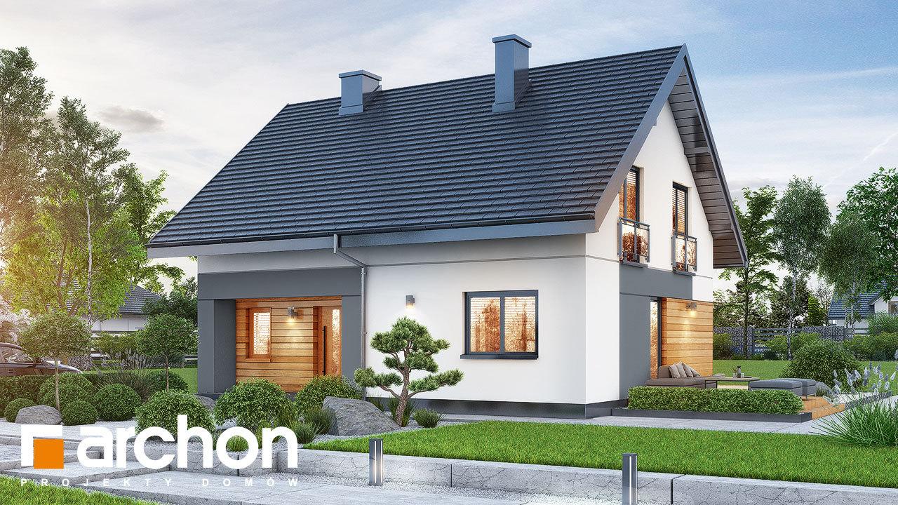 Проект будинку ARCHON+ Будинок в малинівці 11