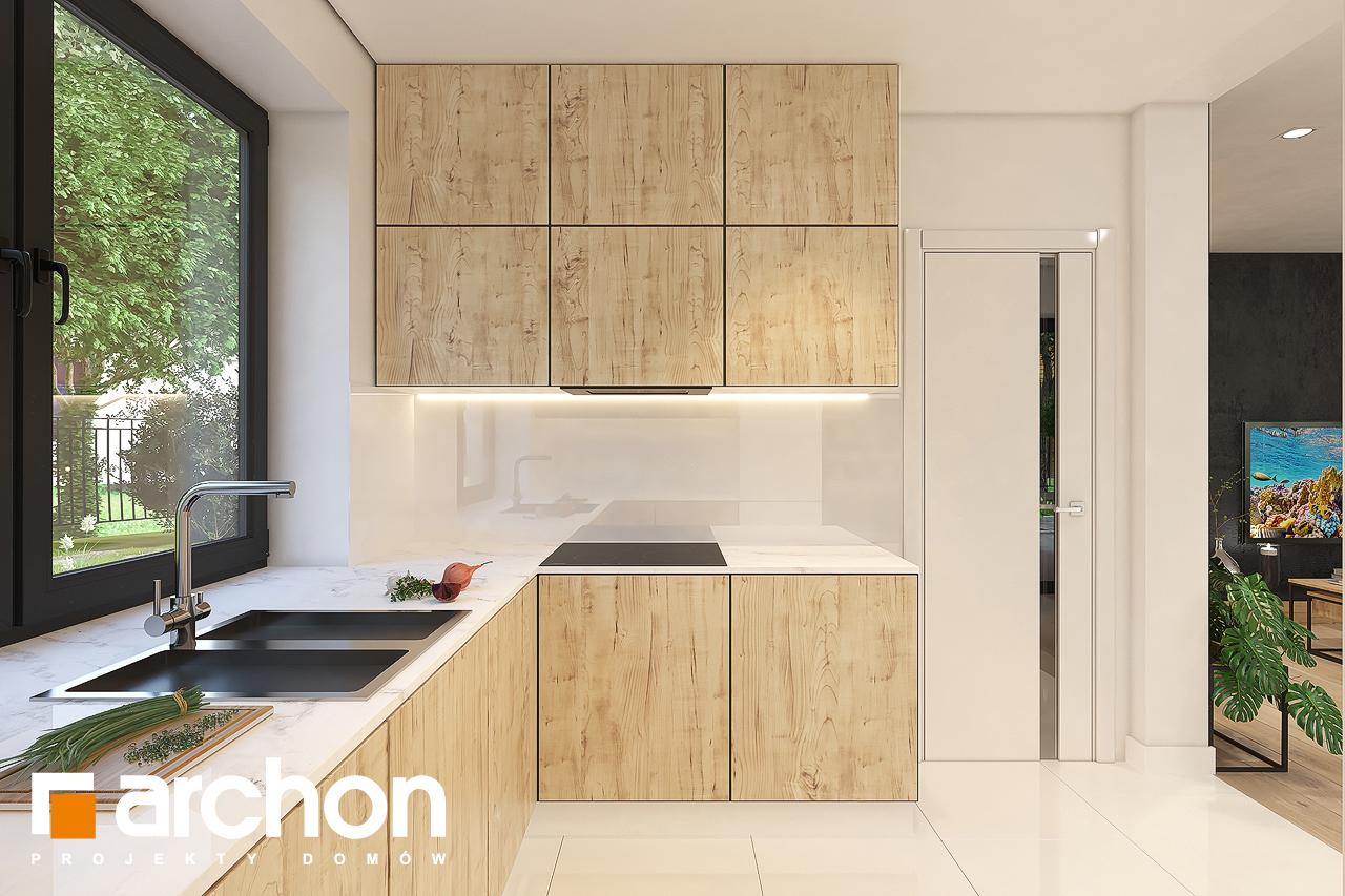 Проект будинку ARCHON+ Будинок в малинівці 11 візуалізація кухні 1 від 3