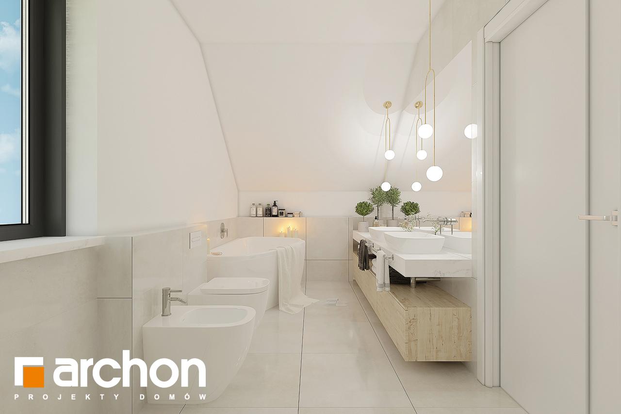 Проект будинку ARCHON+ Будинок в малинівці 11 візуалізація ванни (візуалізація 3 від 1)