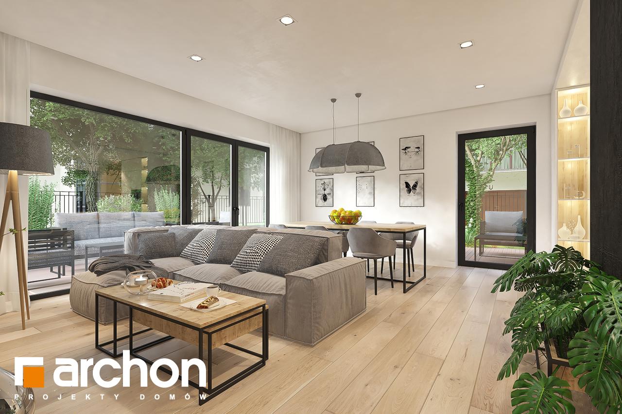 Проект будинку ARCHON+ Будинок в малинівці 11 денна зона (візуалізація 1 від 1)